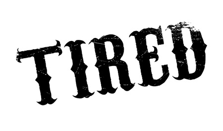 Tired rubber stamp. Grunge design with dust scratches. Effects can be easily removed for a clean, crisp look. Color is easily changed.