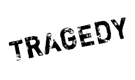 awful: Tragedy rubber stamp. Grunge design with dust scratches. Effects can be easily removed for a clean, crisp look. Color is easily changed.