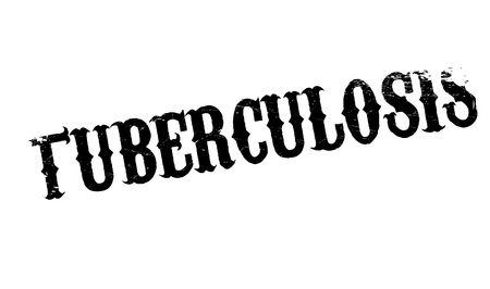 Tuberculosis rubber stamp. Grunge design with dust scratches. Effects can be easily removed for a clean, crisp look. Color is easily changed.