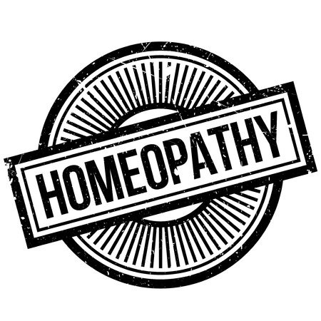 Homeopathy rubber stamp. Grunge design with dust scratches. Effects can be easily removed for a clean, crisp look. Color is easily changed.