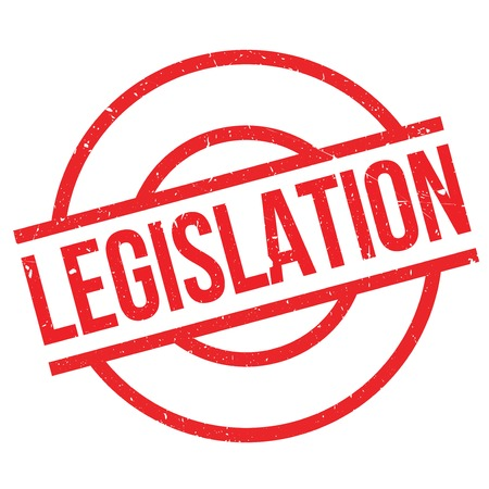 governing: Legislation rubber stamp. Grunge design with dust scratches. Effects can be easily removed for a clean, crisp look. Color is easily changed. Illustration