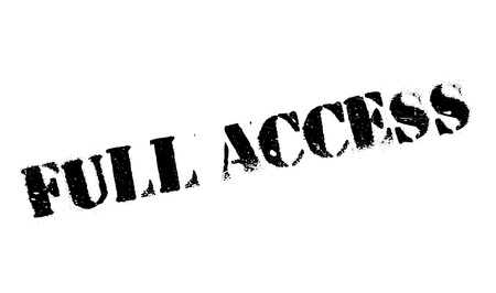 admittance: Full Access rubber stamp. Grunge design with dust scratches. Effects can be easily removed for a clean, crisp look. Color is easily changed.