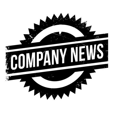 leaking: Company news stamp. Grunge design with dust scratches. Effects can be easily removed for a clean, crisp look. Color is easily changed.