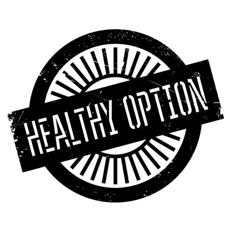 hearty: Healthy option stamp. Grunge design with dust scratches. Effects can be easily removed for a clean, crisp look. Color is easily changed. Illustration