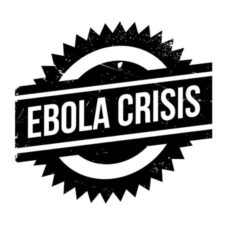 outbreak: Ebola Crisis stamp. Grunge design with dust scratches. Effects can be easily removed for a clean, crisp look. Color is easily changed.