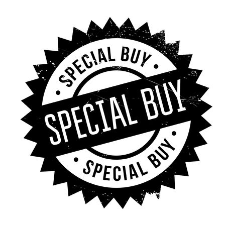defined: Special buy stamp. Grunge design with dust scratches. Effects can be easily removed for a clean, crisp look. Color is easily changed.