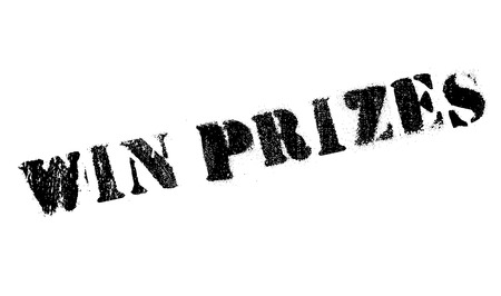 shut out: Win prizes stamp. Grunge design with dust scratches. Effects can be easily removed for a clean, crisp look. Color is easily changed.