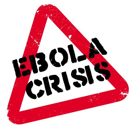 Ebola Crisis rubber stamp. Grunge design with dust scratches. Effects can be easily removed for a clean, crisp look. Color is easily changed. Illustration