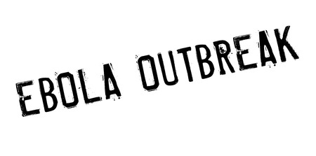 outbreak: Ebola Outbreak rubber stamp. Grunge design with dust scratches. Effects can be easily removed for a clean, crisp look. Color is easily changed.