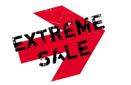 extravagant: Extreme Sale stamp. Grunge design with dust scratches. Effects can be easily removed for a clean, crisp look. Color is easily changed. Illustration