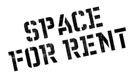 tatter: Space For Rent stamp. Grunge design with dust scratches. Effects can be easily removed for a clean, crisp look. Color is easily changed. Illustration