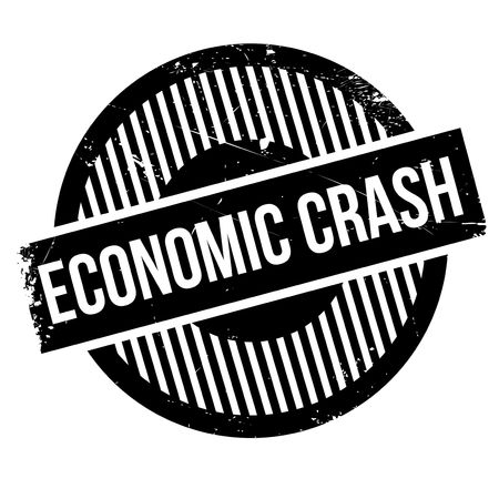 crunches: Economic Crash rubber stamp. Grunge design with dust scratches. Effects can be easily removed for a clean, crisp look. Color is easily changed.