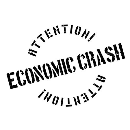 bust: Economic Crash rubber stamp. Grunge design with dust scratches. Effects can be easily removed for a clean, crisp look. Color is easily changed.