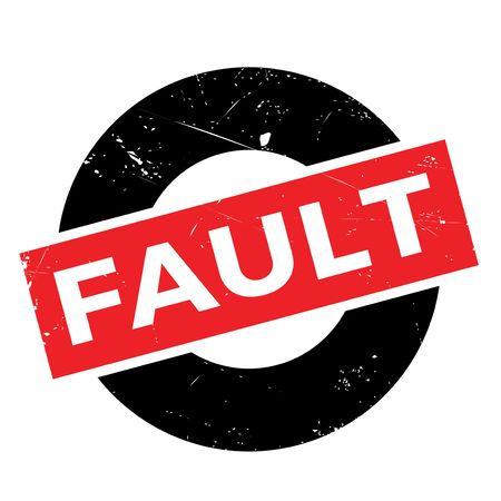 unprofessional: Fault rubber stamp. Grunge design with dust scratches. Effects can be easily removed for a clean, crisp look. Color is easily changed.