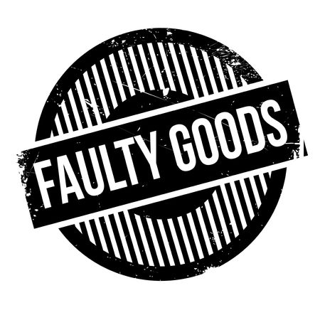 offense: Faulty Goods rubber stamp. Grunge design with dust scratches. Effects can be easily removed for a clean, crisp look. Color is easily changed.