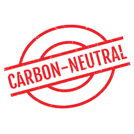 unbiased: Carbon-neutral stamp. Grunge design with dust scratches. Effects can be easily removed for a clean, crisp look. Color is easily changed. Illustration