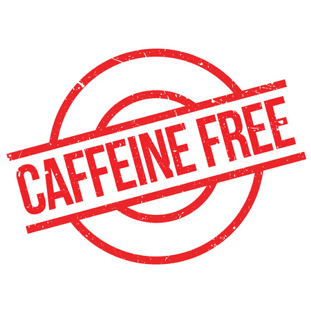 caffeine free: Caffeine free stamp. Grunge design with dust scratches. Effects can be easily removed for a clean, crisp look. Color is easily changed.