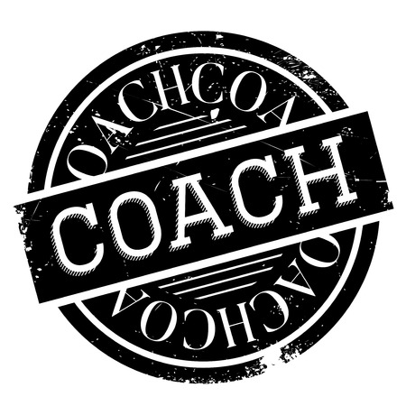 break in: Coach stamp. Grunge design with dust scratches. Effects can be easily removed for a clean, crisp look. Color is easily changed.