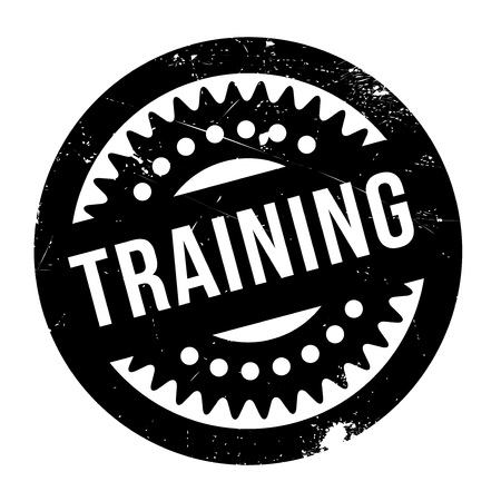 buildup: Training stamp. Grunge design with dust scratches. Effects can be easily removed for a clean, crisp look. Color is easily changed. Illustration