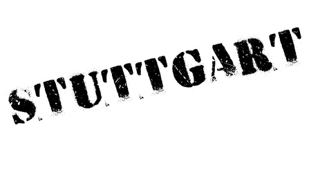 stuttgart: Stuttgart stamp. Grunge design with dust scratches. Effects can be easily removed for a clean, crisp look. Color is easily changed.