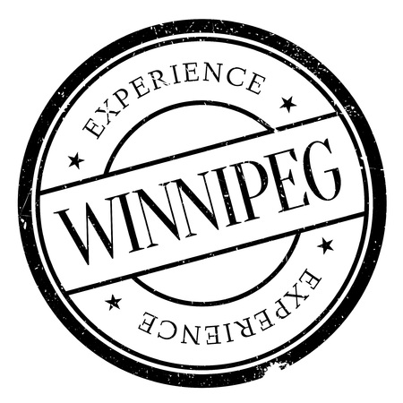 winnipeg: Winnipeg stamp. Grunge design with dust scratches. Effects can be easily removed for a clean, crisp look. Color is easily changed.