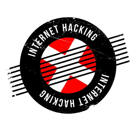 violation: Internet Hacking rubber stamp. Grunge design with dust scratches. Effects can be easily removed for a clean, crisp look. Color is easily changed.