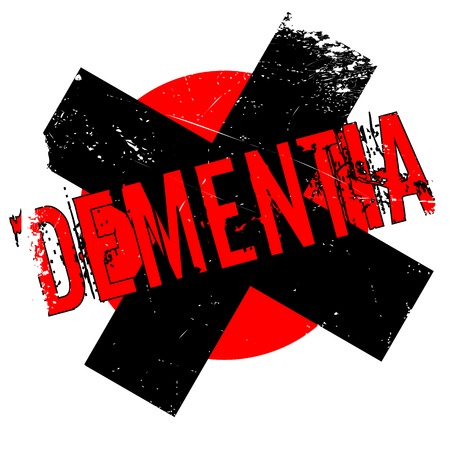 forgetful: Dementia rubber stamp. Grunge design with dust scratches. Effects can be easily removed for a clean, crisp look. Color is easily changed.