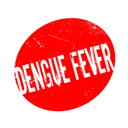 infectious disease: Dengue Fever rubber stamp. Grunge design with dust scratches. Effects can be easily removed for a clean, crisp look. Color is easily changed.