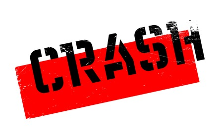 smash: Crash rubber stamp. Grunge design with dust scratches. Effects can be easily removed for a clean, crisp look. Color is easily changed. Illustration