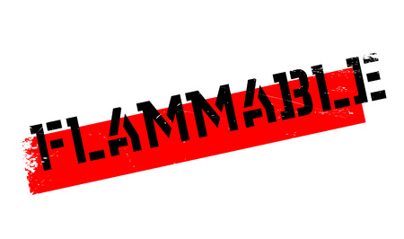 Flammable rubber stamp. Grunge design with dust scratches. Effects can be easily removed for a clean, crisp look. Color is easily changed.
