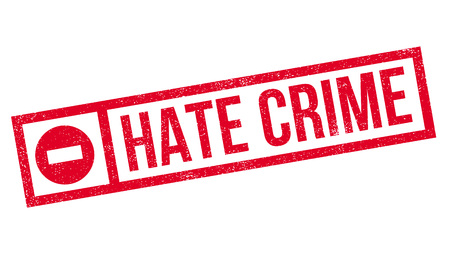 disgusting: Hate Crime rubber stamp. Grunge design with dust scratches. Effects can be easily removed for a clean, crisp look. Color is easily changed.