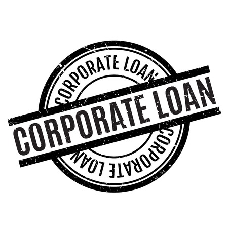 floater: Corporate Loan rubber stamp. Grunge design with dust scratches. Effects can be easily removed for a clean, crisp look. Color is easily changed.