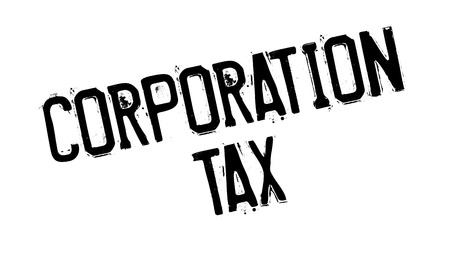 levy: Corporation Tax rubber stamp. Grunge design with dust scratches. Effects can be easily removed for a clean, crisp look. Color is easily changed.