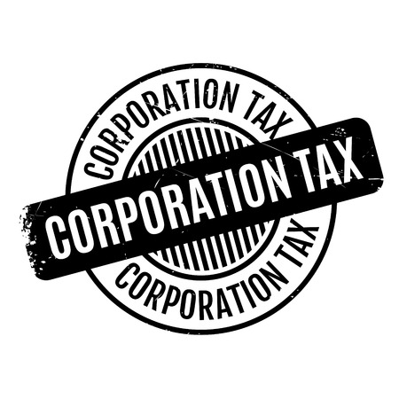 excess: Corporation Tax rubber stamp. Grunge design with dust scratches. Effects can be easily removed for a clean, crisp look. Color is easily changed.