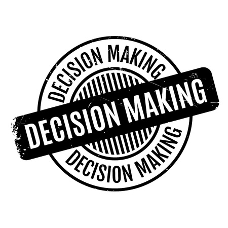 good judgment: Decision Making rubber stamp. Grunge design with dust scratches. Effects can be easily removed for a clean, crisp look. Color is easily changed.