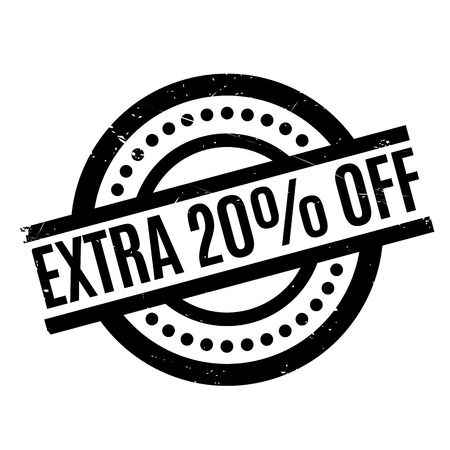 drawback: Extra 20% Off rubber stamp. Grunge design with dust scratches. Effects can be easily removed for a clean, crisp look. Color is easily changed.