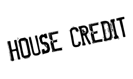credence: House Credit rubber stamp. Grunge design with dust scratches. Effects can be easily removed for a clean, crisp look. Color is easily changed.