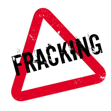 fracturing: Fracking rubber stamp. Grunge design with dust scratches. Effects can be easily removed for a clean, crisp look. Color is easily changed. Illustration