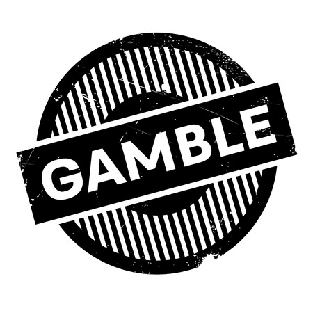 odds: Gamble rubber stamp. Grunge design with dust scratches. Effects can be easily removed for a clean, crisp look. Color is easily changed.