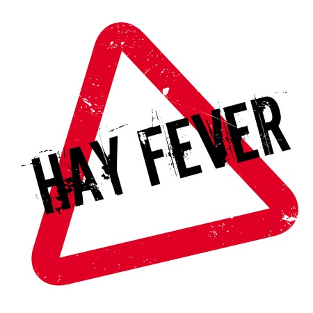 itchy: Hay Fever rubber stamp. Grunge design with dust scratches. Effects can be easily removed for a clean, crisp look. Color is easily changed. Illustration