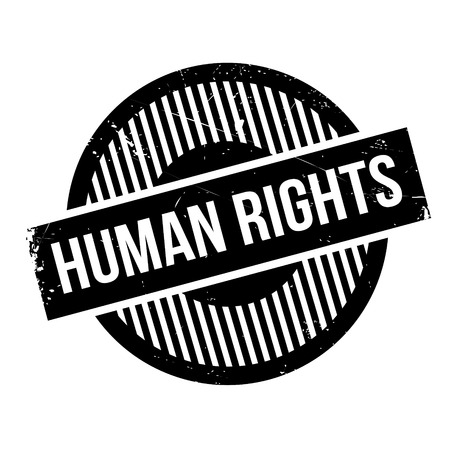 bill of rights: Human Rights rubber stamp. Grunge design with dust scratches. Effects can be easily removed for a clean, crisp look. Color is easily changed.