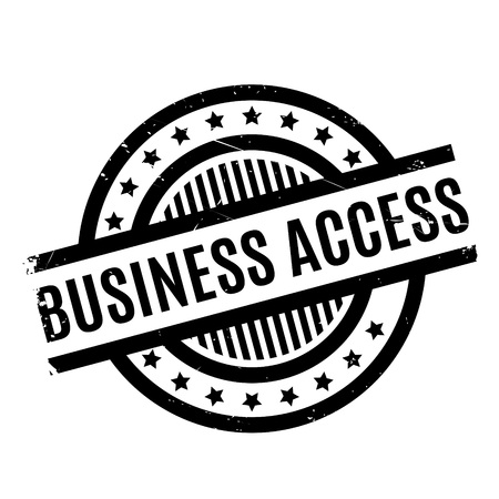 admittance: Business Access rubber stamp. Grunge design with dust scratches. Effects can be easily removed for a clean, crisp look. Color is easily changed.
