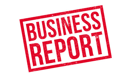 findings: Business Report rubber stamp. Grunge design with dust scratches. Effects can be easily removed for a clean, crisp look. Color is easily changed.