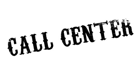 hail: Call Center rubber stamp. Grunge design with dust scratches. Effects can be easily removed for a clean, crisp look. Color is easily changed.