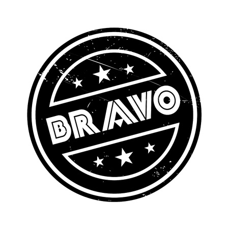 marvelous: Bravo rubber stamp. Grunge design with dust scratches. Effects can be easily removed for a clean, crisp look. Color is easily changed.