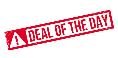 sensational: Deal Of The Day rubber stamp. Grunge design with dust scratches. Effects can be easily removed for a clean, crisp look. Color is easily changed.