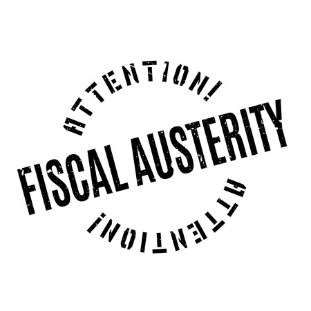 fiscal: Fiscal Austerity rubber stamp. Grunge design with dust scratches. Effects can be easily removed for a clean, crisp look. Color is easily changed.
