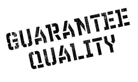 Garantie Qualitätsstempel. Grunge-Design mit Staub Kratzer. Effekte können für ein sauberes, klares Aussehen leicht entfernt werden. Die Farbe wird leicht geändert.