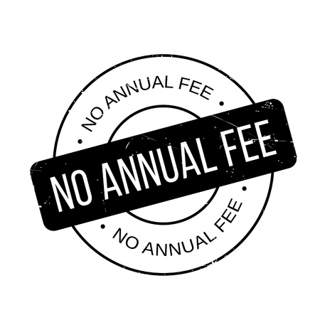 honorarium: No Annual Fee rubber stamp. Grunge design with dust scratches. Effects can be easily removed for a clean, crisp look. Color is easily changed.