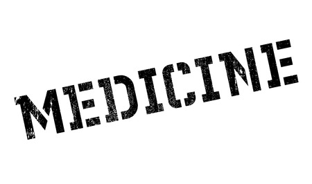 antidote: Medicine rubber stamp. Grunge design with dust scratches. Effects can be easily removed for a clean, crisp look. Color is easily changed. Illustration